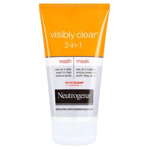 neutrogena-visibly-clear-2-in1-wash-and-mask-150ml