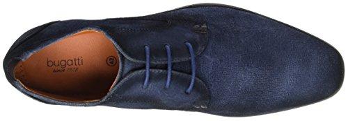 Uomo blu 312101071400 Blu Scuro Derby 4100 Bugatti gFO1wx6F