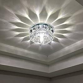 Luces de Techo Cristal / LED / Mini Estilo / Bombilla Incluida 1 pieza , 110-120v