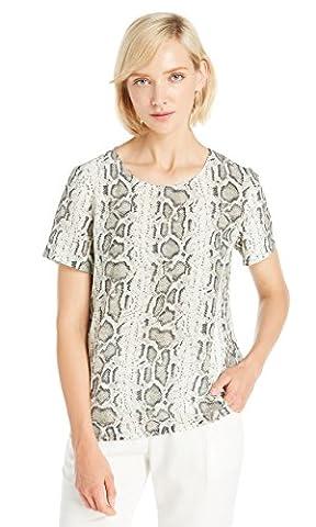LILYSILK Women's Silk T Shirt Short Sleeve Ladies Top Tunic