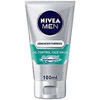 NIVEA, MEN, Face Wash, Advanced Fairness + Oil Control, 100ml
