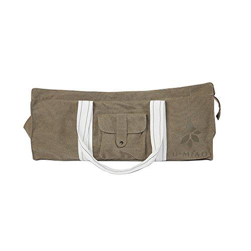 nine-cif-exercise-yoga-mat-bag-with-waterproof-pocket-and-durable-strap-khaki