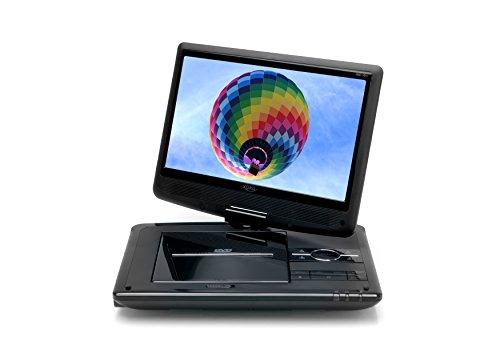 Xoro HSD 1011 Tragbarer DVD-Player mit DVB-T2 Tuner und 25,6 cm (10,1 Zoll) Bildschrim (DVB-T2 H.265 HEVC, USB 2.0, SDHC, Lithium Akku, Teleskop-Antenne, 12V Adapter, Fernbedienung) schwarz - 6