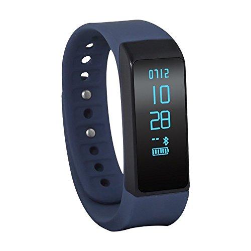 Jcotton - Bracelet fitness connecté Bluetooth 4.0 - Blue3.0