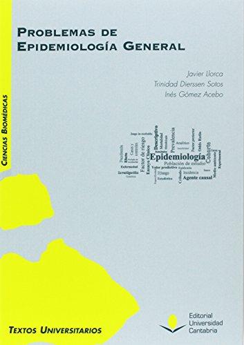 Problemas de epidemiología general (Manuales)