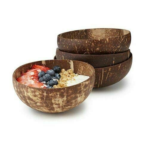 Cuenco coco, cuenco coco natural, ligero duradero