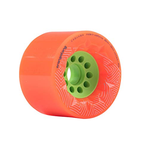 Orangatang Caguama Longboard Rollen 85mm 80a orange