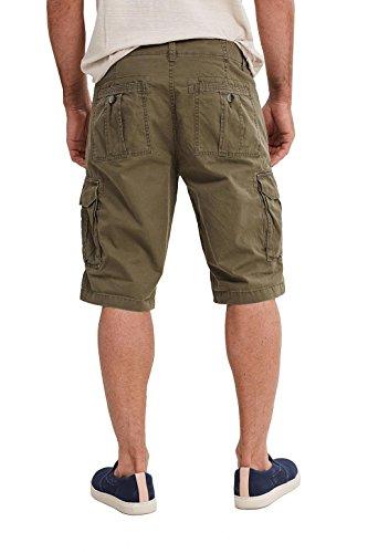ESPRIT, Pantaloncini Uomo Verde (Dark Khaki)