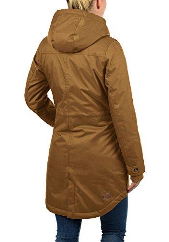 DESIRES Bella Damen Übergangsmantel Parka Jacke Mit Kapuze, Größe:S, Farbe:Cinnamon (5056) - 4