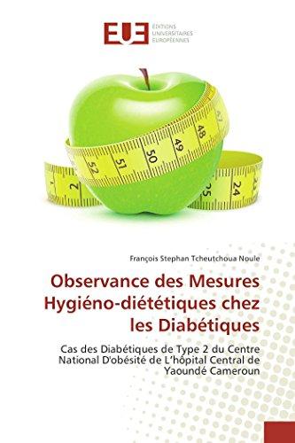 Observance des mesures hygiéno-diététiques chez les diabétiques