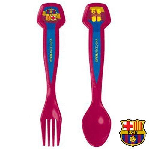 Set de 2 Cubiertos FC Barcelona