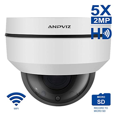 WiFi IP PTZ Dome Kamera 1080 P 5X Optischer Zoom Wireless Kamera Indoor/Outdoor IP66 Wasserdich