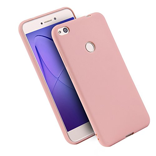 WindTeco Funda Huawei P8 Lite 2017, Mate Case Ultra Delgado TPU Goma Flexible Cover Protectora Carcasa de Silicona Gel Suave Bumper Case para Huawei P8 Lite 2017
