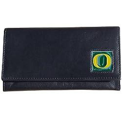 NCAA Oregon Ducks Women's Leather Wallet