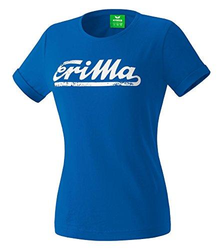Ultra-king (erima Damen Retro T-Shirt, King Blue, 36)