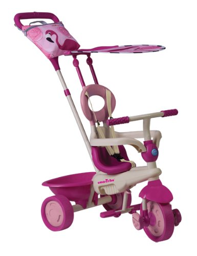 Kinderdreirad Smart Trike Safari Flamingo Touch Steering - pink/beige