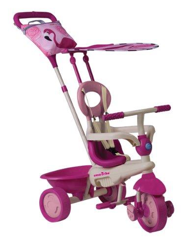 Preisvergleich Produktbild Kinderdreirad Smart Trike Safari Flamingo Touch Steering - pink/beige