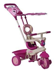 Smart Trike - Triciclo Safari Flamingo Rosa Dirigible