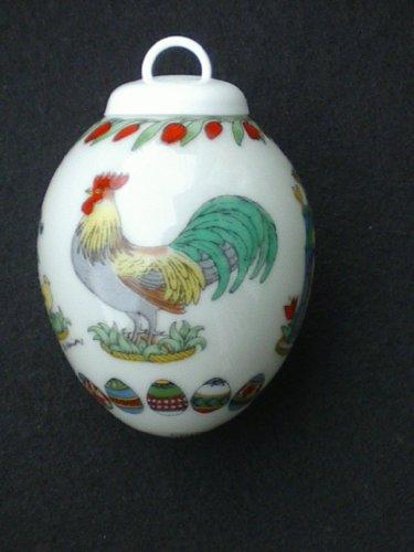Hutschenreuther - Porzellan Miniatur Ei 1993 -...