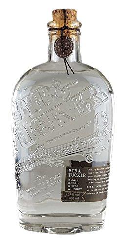Bib & Tucker White Whiskey 46.0% 0,7l (Bib Körper)