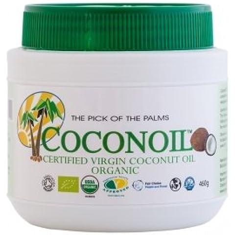 Aceite de Coco Ecológico Coconoil Organic 0,5L Virgen Extra
