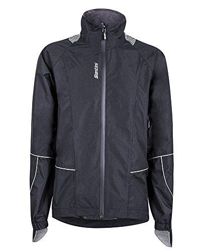 Santini 365 Rain Jacket schwarz