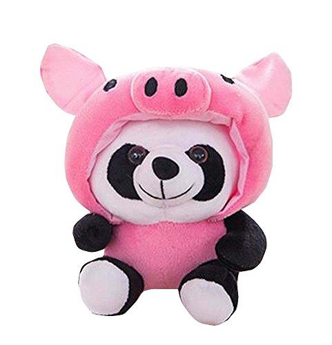 Black Temptation Reizendes Panda-Schwein-weiches bequemes Plüsch-Spielzeug Hauptdekor