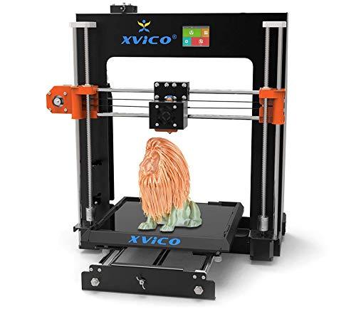 3D Drucker XVICO X1 3D Printer Kit 220 * 220 * 240mm Druckgröße Auto Leveling Resume Druck mit 2,4 Zoll Farbe Touchscreen Unterstützt Deutsch Sprachen