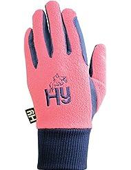 Hy5 de natación en forma pez 2-Tone - / Raspberry guantes de invierno azul marino, color , tamaño XL