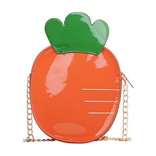 Mitlfuny handbemalte Ledertasche, Schultertasche, Geschenk, Handgefertigte Tasche,Kinder süße Wildfrüchte Schulter Messenger Bag Coin Purse Pack für Kinder Trek Messenger
