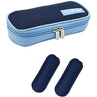 DCCN Insulin Kühltasche Diabetiker Tasche für Medikamente Thermotasche aus Oxford-Stoff und Alufolien mit Kühlakkus preisvergleich bei billige-tabletten.eu