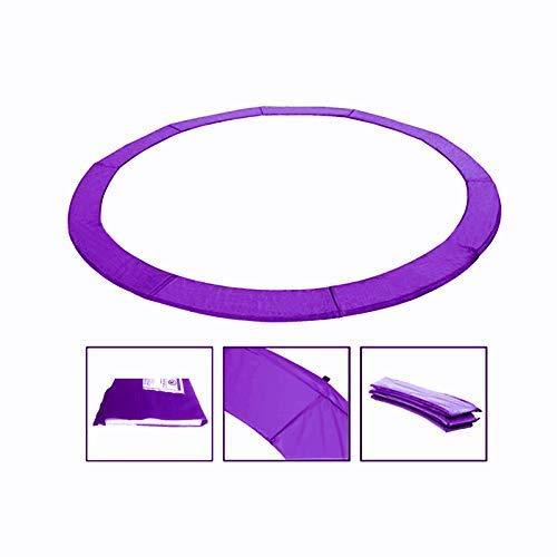 Andreas Dell Randabdeckung Federabdeckung Randschutz Schutz für Trampolin von 250 bis 460 cm (Lila, 366)