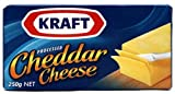 Kraft Processed Cheddar Cheese, 250g (ART01073)