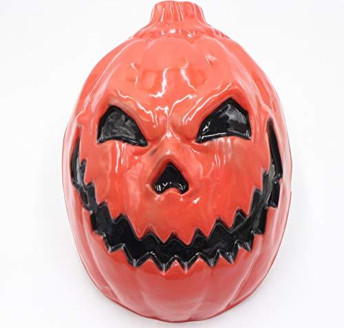 Halloween Vollgesichts Horror Maske Geistermaske Ganze Person Gruselmaske Smiley Gesichtsmaske 3