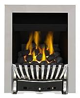 Eastleigh Full Depth Convector Gas Fire - Brass/Black-P