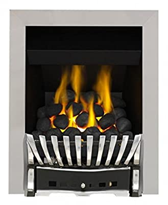Eastleigh Full Depth Convector Gas Fire - Brass/Black-P