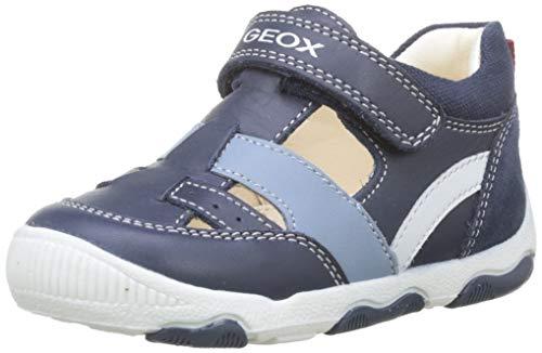 Geox New Balu' Boy B, Zapatillas con Velcro para Bebés, Azul (Navy...