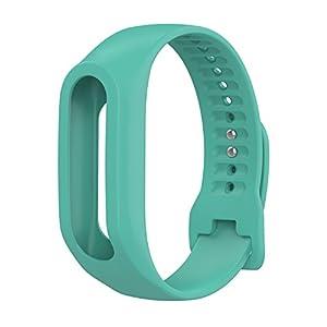 TomTom Touch Correa de reloj de silicona, correa de repuesto para TomTom Touch Cardio, rastreador de actividad deportiva… 1