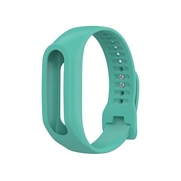 TomTom Touch Correa de reloj de silicona, correa de repuesto para TomTom Touch Cardio, rastreador de actividad deportiva, GPS Fitness Tracker 1