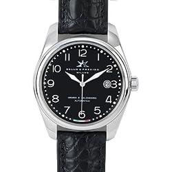 """Bello & Preciso italienische Armbanduhr Modell """"39"""" Nero"""