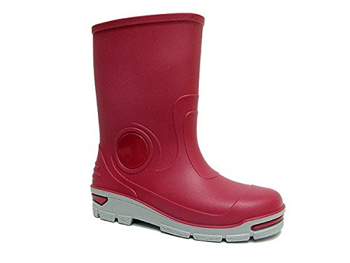 Childrens Wellington Boots Wellies Rainy Shoes Kids All UK Sizes - Pink Plain