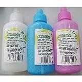 Set 3Flasche Flasche PVC PULVERISATEUR Fine Mist 200cc alle Flüssigkeiten