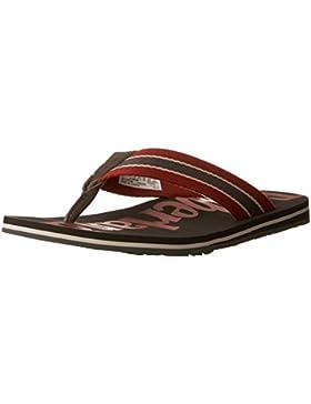 TIMBERLAND - Herren Zehentrenner - Wild Dunes - Schwarz/Rot Schuhe in Übergrößen