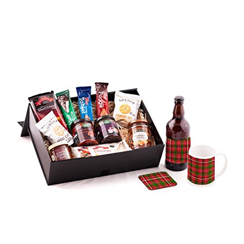Tartan Beer and Scottish Food Hamper. Birthday, Anniversary, Engagement, Easter, Mother's day, Father's day, Valentine's day, Wedding or Christmas gift idea