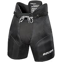 Bauer Nexus 400 - Pantalones de hockey sobre hielo para niño negro negro Talla:small