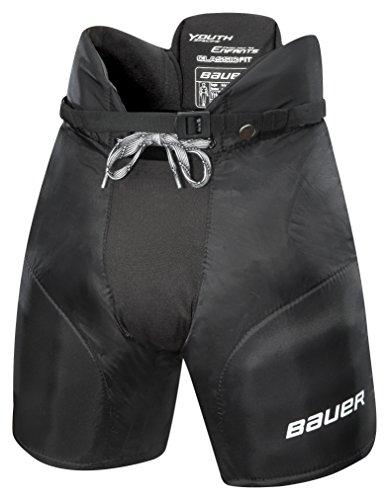Bauer Kinder Eishockeyhose Nexus 400 Bambini, Schwarz, S