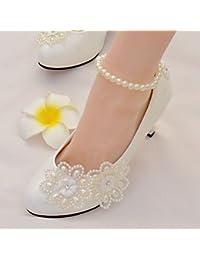 El mejor regalo para mujer y madre Mujer Zapatos Encaje Semicuero Primavera  Otoño Confort Zapatos de 0ab6e8f6c99