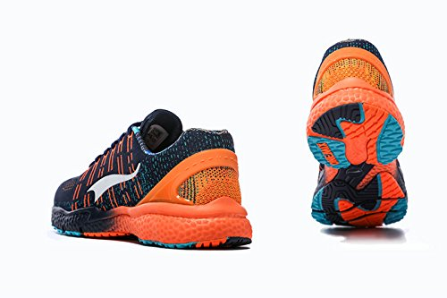 Onemix Herren Damen Leichte Tennisschuhe Für Tennis Mit Dämpfung,Atmungsaktiv Schuhe Trainingsschuhe,Gr 36-45 Blau / orange