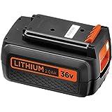 Black + Decker 36 V, 2.0 Ah iones/batería/complemento Repuesto, compatible, 36 V dispositivos, bl20362