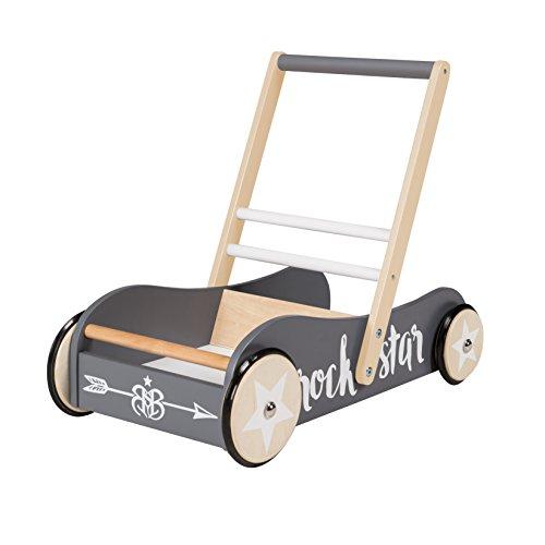 roba Lauflernwagen 'Rock Star Baby 3', mit Bremse, als Puppenwagen nutzbar